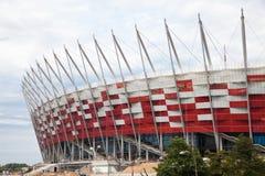 Premiere presentation of national stadium stock images