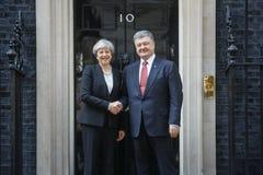 Premierminister des Vereinigten Königreichs Theresa May Stockfotos