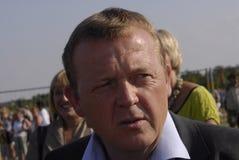 PREMIERMINISTER LARS-LOEKKE RASMUSSEN Lizenzfreie Stockfotos