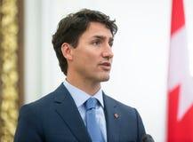 Premierminister von Kanada Justin Trudeau stockfoto