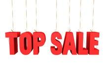 Premiers danglers de vente Photo stock