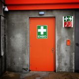 Premiers secours - EHBO Photo libre de droits