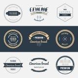 Premii ilości etykietki ustawiać Gatunku projekta elementy royalty ilustracja