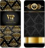 Premii vip karty royalty ilustracja