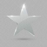 Premio de cristal del trofeo Estrella Ilustración del vector stock de ilustración
