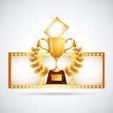 Premio de la película libre illustration