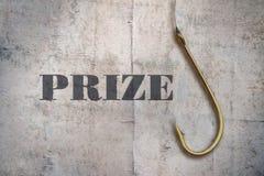 Premio de la sola palabra imagen de archivo