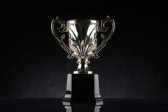 Premio del campeonato del trofeo que gana imágenes de archivo libres de regalías