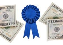 Premio del efectivo fotos de archivo