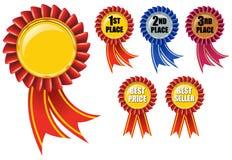 Premio del nastro Fotografia Stock
