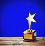 Premio della stella Fotografia Stock Libera da Diritti