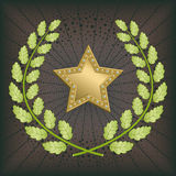 Premio della stella illustrazione di stock