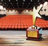 Premio della stella per servizio Fotografia Stock