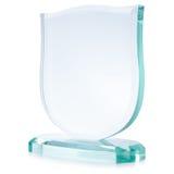 Premio di vetro fotografie stock libere da diritti