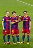 Premio dorato della sfera di Messi la FIFA Immagine Stock Libera da Diritti