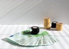 Premio en un casino imágenes de archivo libres de regalías