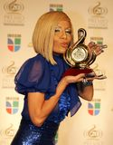 Premio 2008 Lo Nuestro imagem de stock