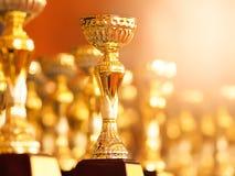 Premio para el ganador acertado imagen de archivo