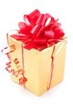 Premio y regalo fotografía de archivo libre de regalías