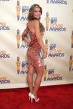Premios 2009 de la película de Adrina Patridge MTV Foto de archivo libre de regalías