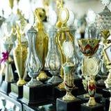 Premios del trofeo fotografía de archivo libre de regalías