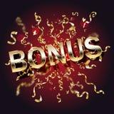 Premiowy kasynowy sztandar depozytowa premia, najpierw ilustracji