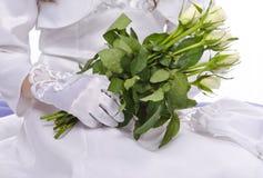 Première communion Images stock