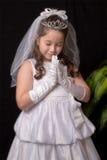 Première communion Photos stock