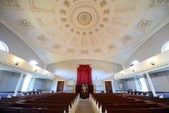 Première église paroissiale unie, Quincy, le Massachusetts Photos stock
