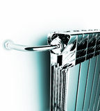 Premise radiator Stock Images