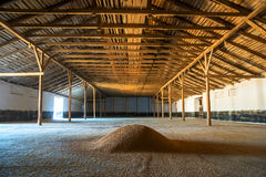 Premises for keeping grain Stock Images