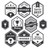 Premium Badge and Modern Label Collection Royalty Free Stock Photography