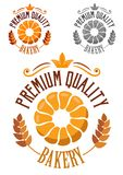 Premium Bakery badge or label Royalty Free Stock Images