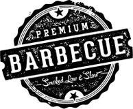 Premium Barbecue Vintage Sign Royalty Free Stock Photo