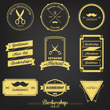 Premium Barbershop Vintage Label Royalty Free Stock Photo