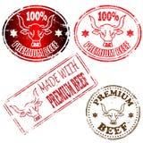 Premium Beef Stamp Stock Image