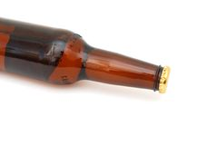 A premium beer. Closeup a premium beer is ready for drinking Stock Photography