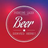 Premium Beer Royalty Free Stock Photos