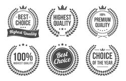 Premium and best quality wreath icons Royalty Free Stock Image