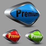 Premium Button Stock Photo