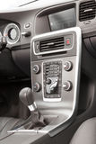 Premium car grey dashboard Stock Photo