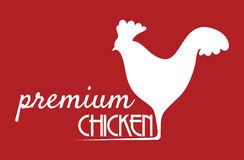 Premium chicken sign Stock Photos