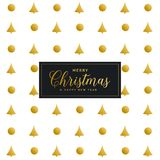Premium christmas festival pattern design background. Vector Royalty Free Stock Photos