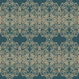 Premium damask seamless elegant pattern background for decor.  Royalty Free Stock Photo