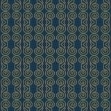 Premium damask seamless elegant pattern background for decor.  Royalty Free Stock Images