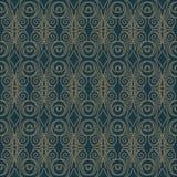 Premium damask seamless elegant pattern background for decor.  Royalty Free Stock Photography