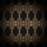 Premium damask seamless elegant pattern background for decor.  Royalty Free Stock Photos