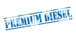 Premium diesel blue stamp Stock Image