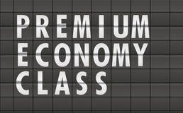 Premium Economy Class Royalty Free Stock Images