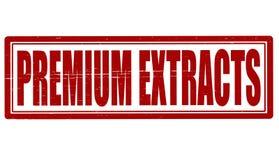 Premium extracts royalty free stock image